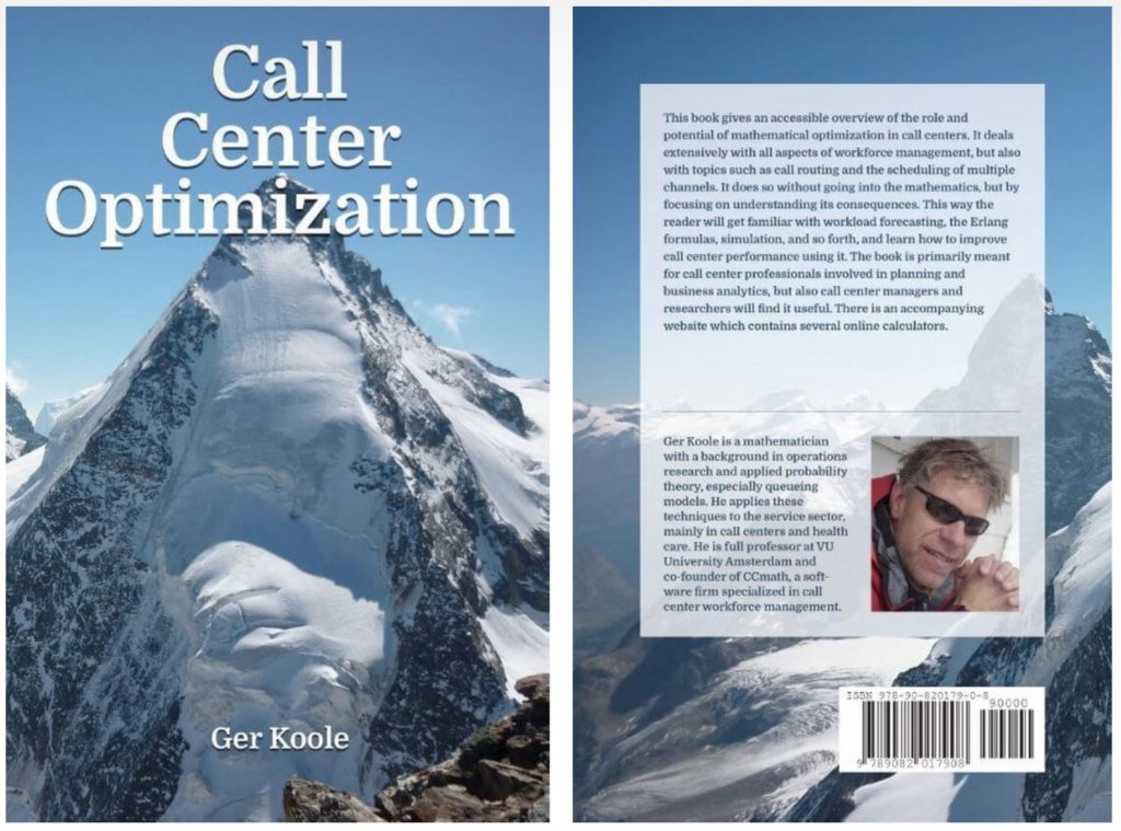Call Center Optimization by Ger Koole